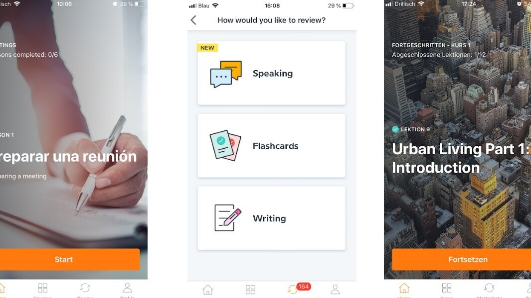 Babbel's update encourages users to chart their own language course