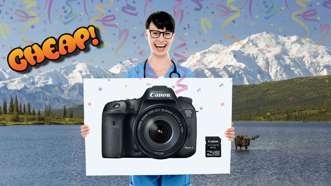 CHEAP: Click! Snap! Develop! There's $450 off the Canon EOS 7D Mark II kit