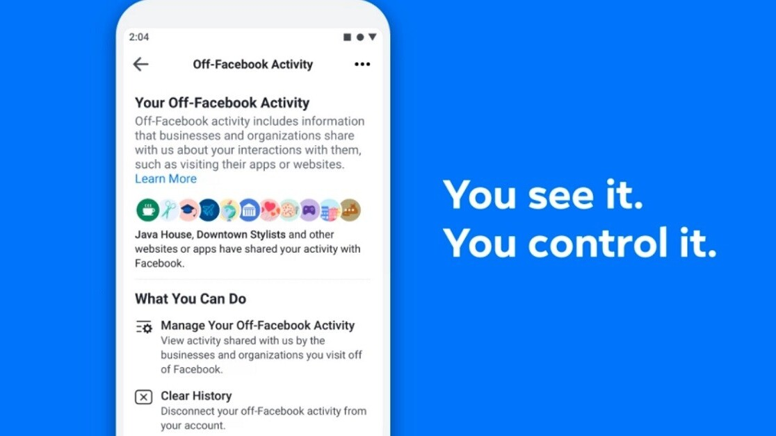 Facebook lets you (sorta) control what info it gets from other sites