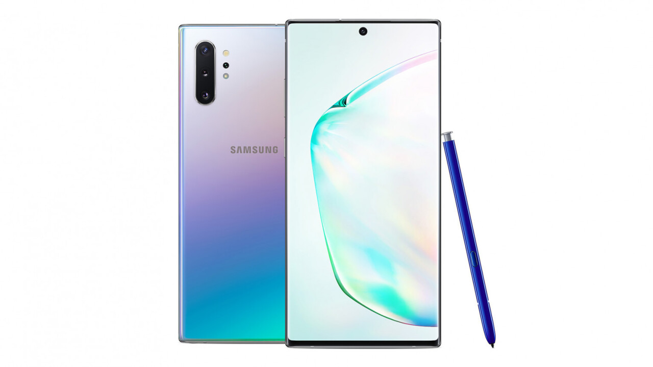 Samsung's Galaxy Note 10 is here with beastly specs and no
