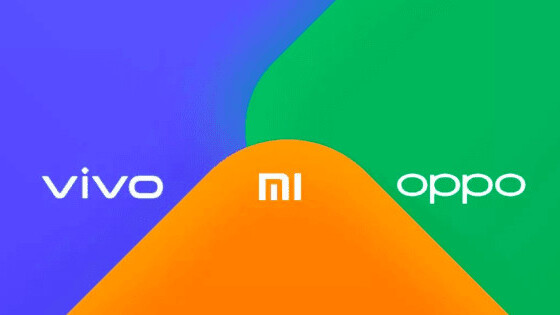 Xiaomi, Oppo, and Vivo team up to create an AirDrop competitor