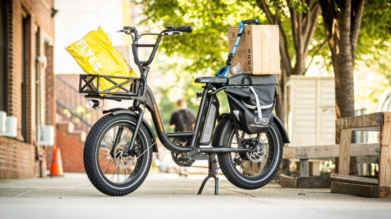 Review: The $1,299 RadRunner is part cargo e-bike, part moped, and all fun