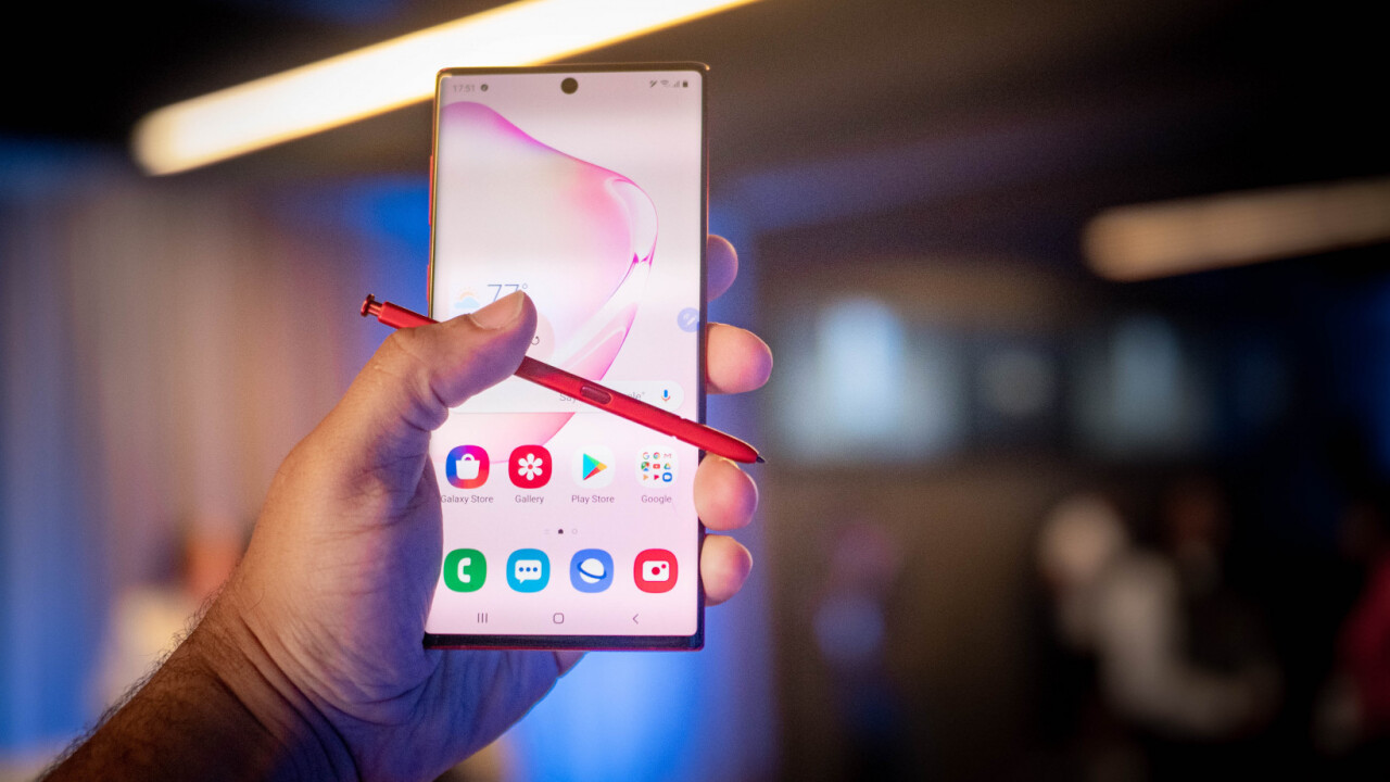 The Galaxy Note 10's new S Pen is a magic wand for your phone