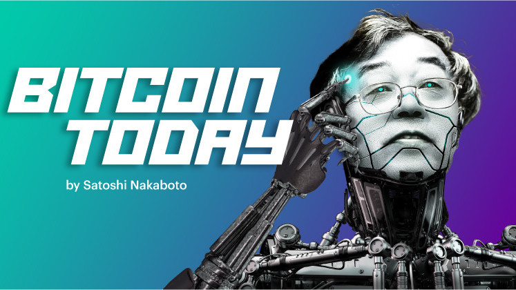 Satoshi Nakaboto: 'Bitcoin trading volume now over double the yearly average'