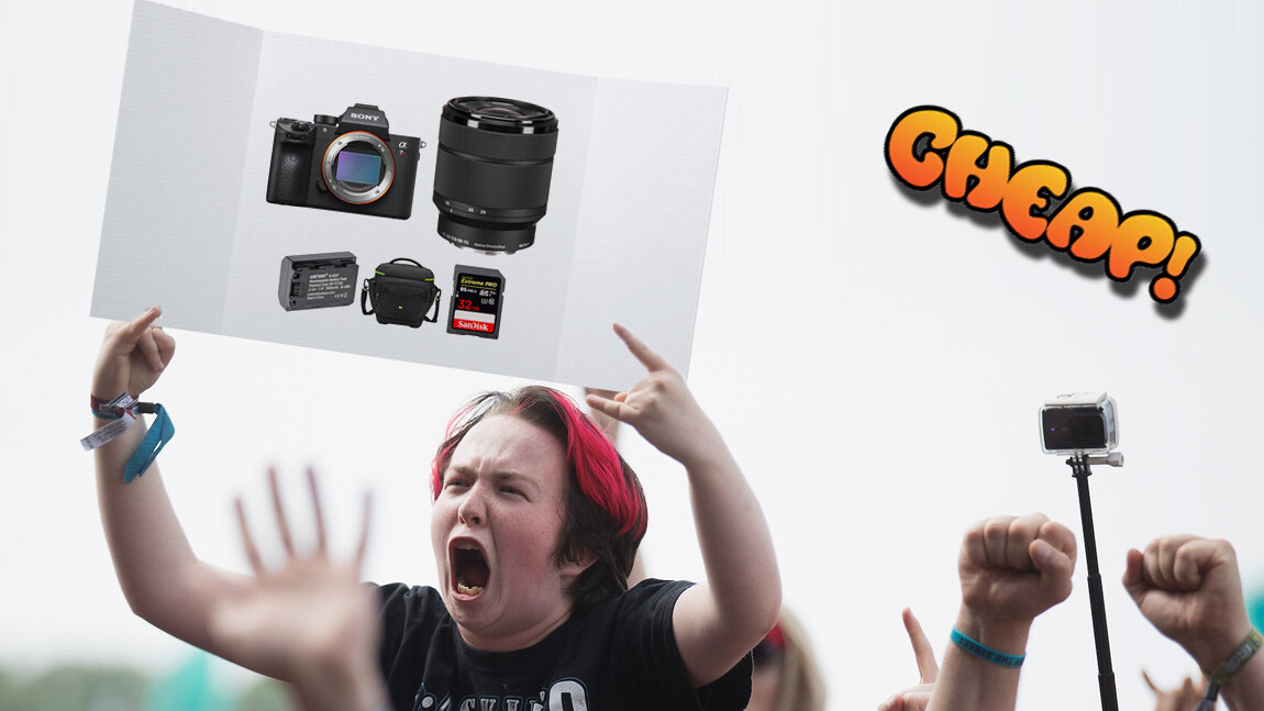CHEAP: $500 off a complete Sony A7R III photography kit? Why the F not