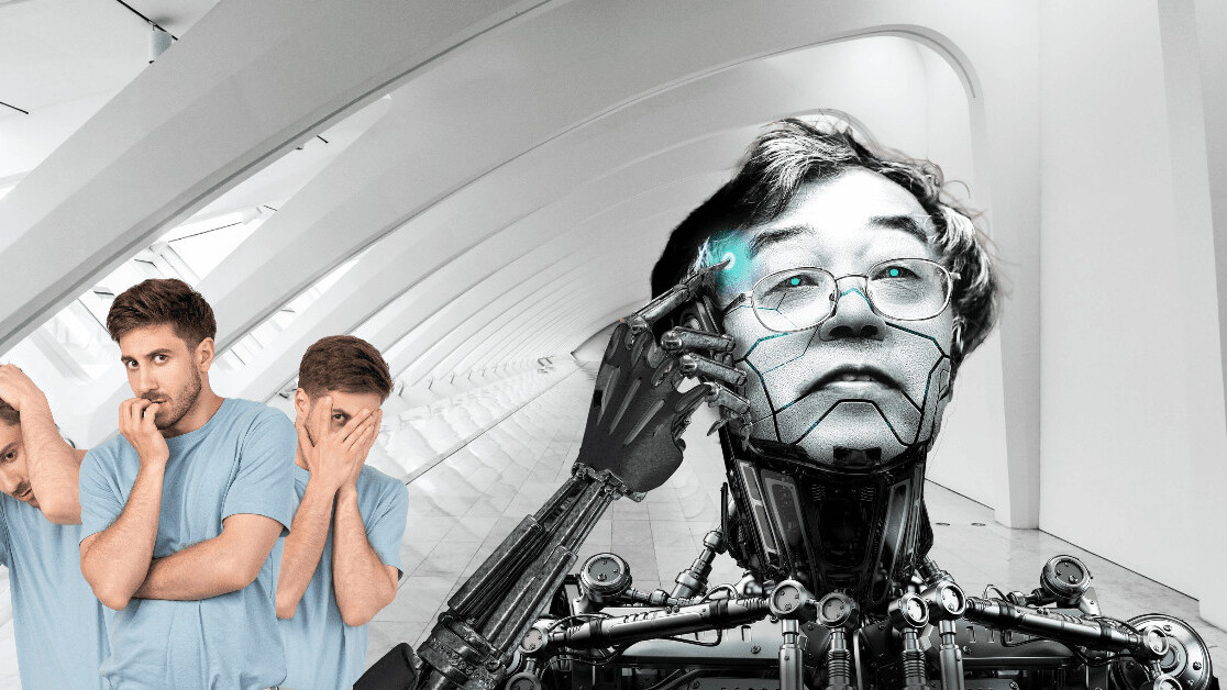 I'm scared shitless of my new robot colleague