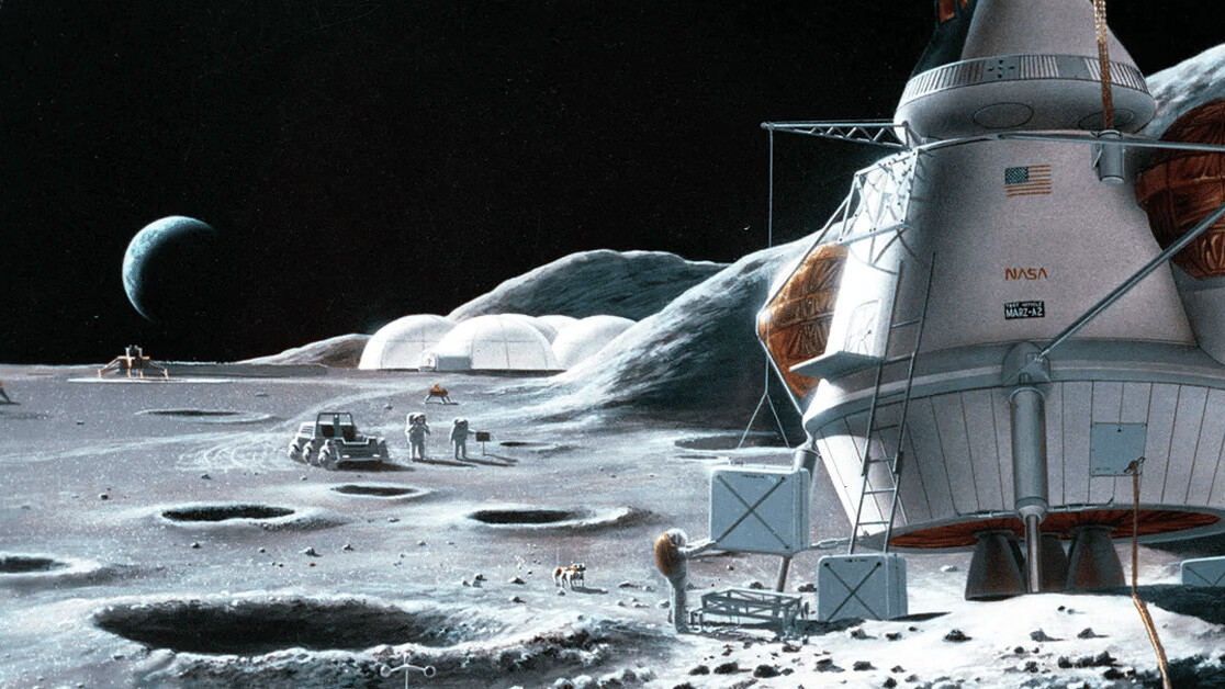 Here's what we need to build our first moon base