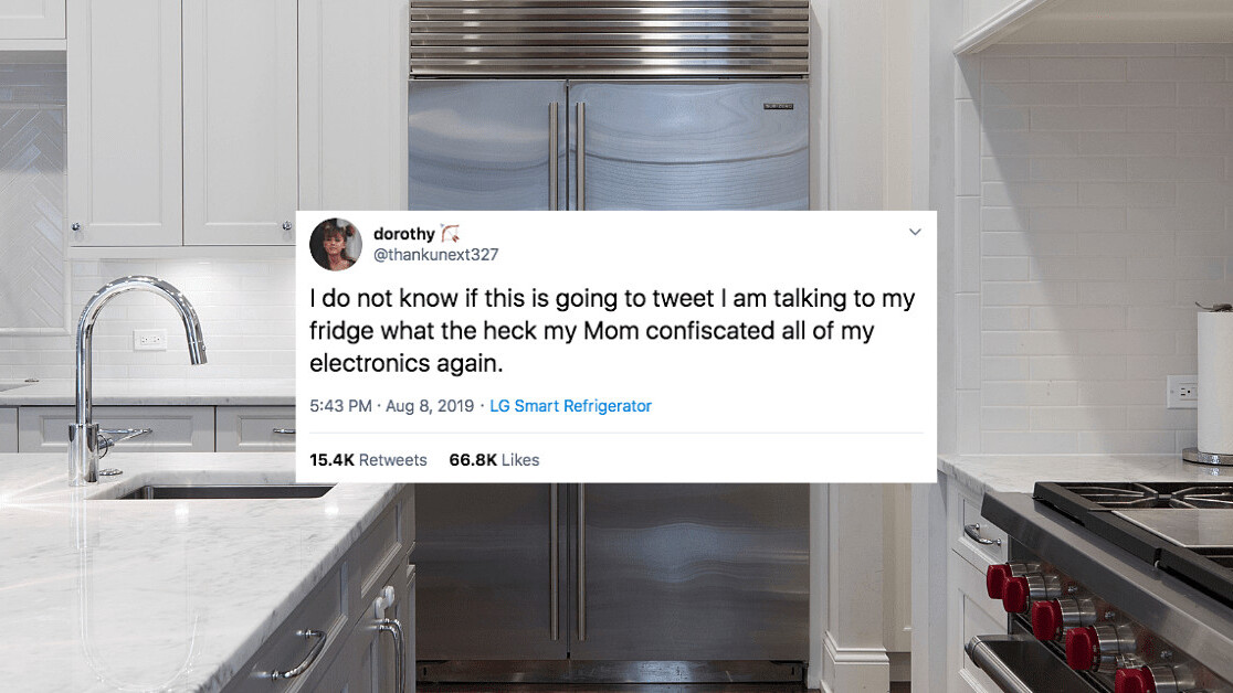 Teen finds way around parents' tech confiscation: Tweeting from the smart fridge (Update: bogus)