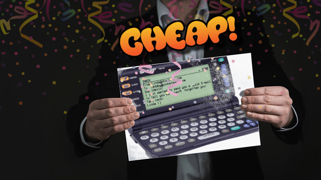 CHEAP: Own a (completely non-functional) piece of Internet history for just $50