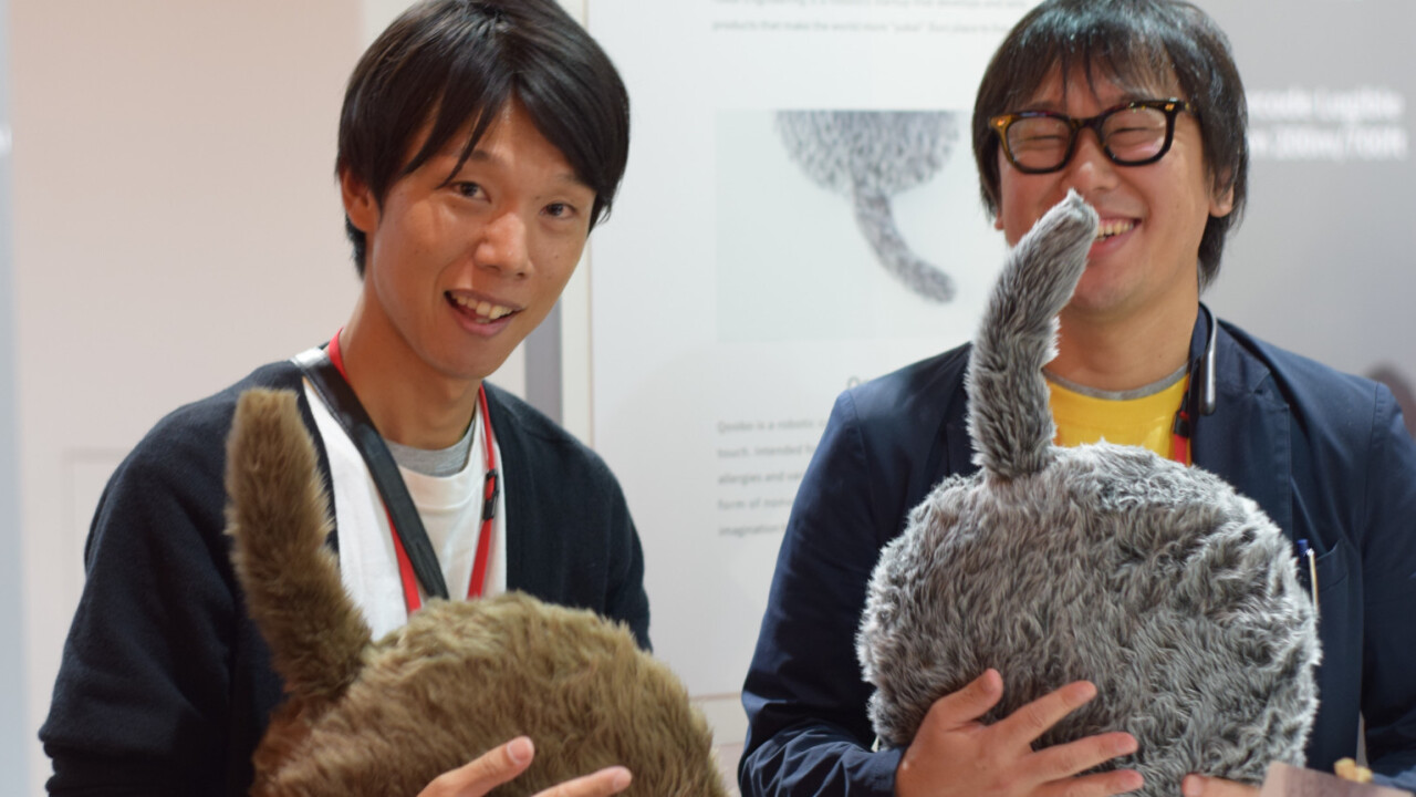 The coolest thing I saw at IFA was a headless robot cat from Japan