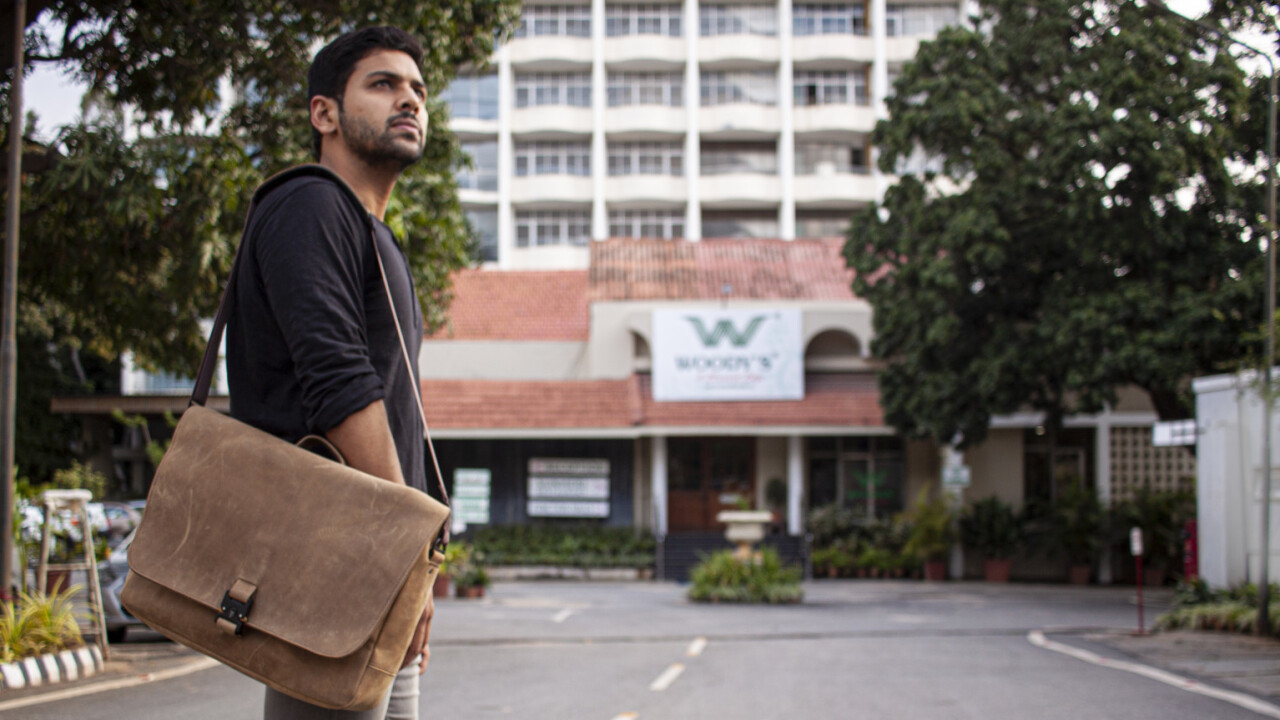 Waterfield's leather messenger bag gives my gadgets the treatment they deserve