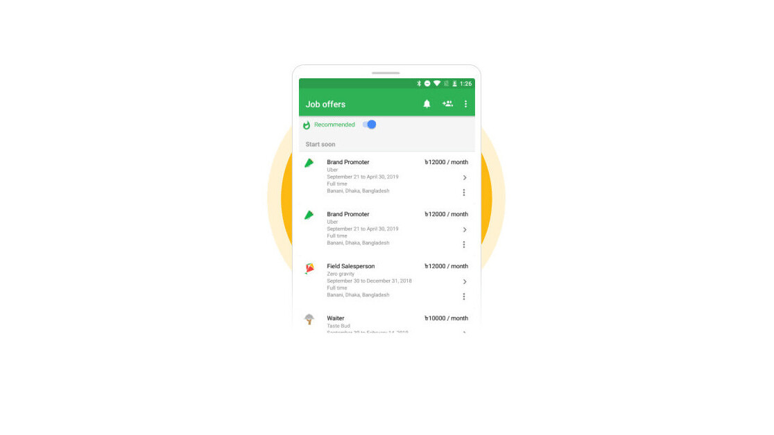 Google's bringing its Kormo app for entry-level job searches to India