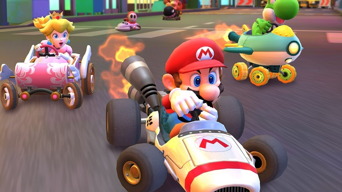 Mario Kart Tour just smoked Pokémon GO in day-one downloads