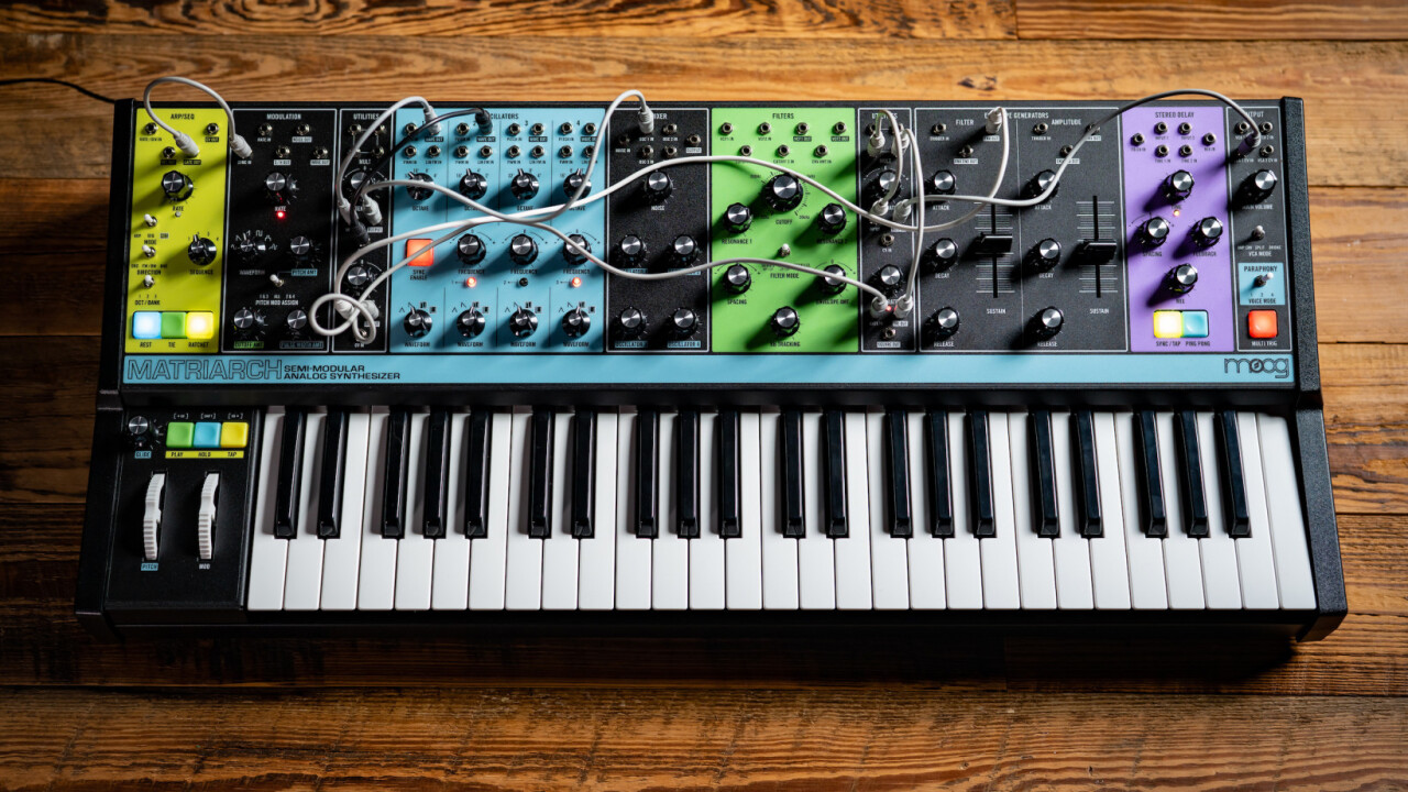 Moog's retro Matriarch analog synth is now shipping