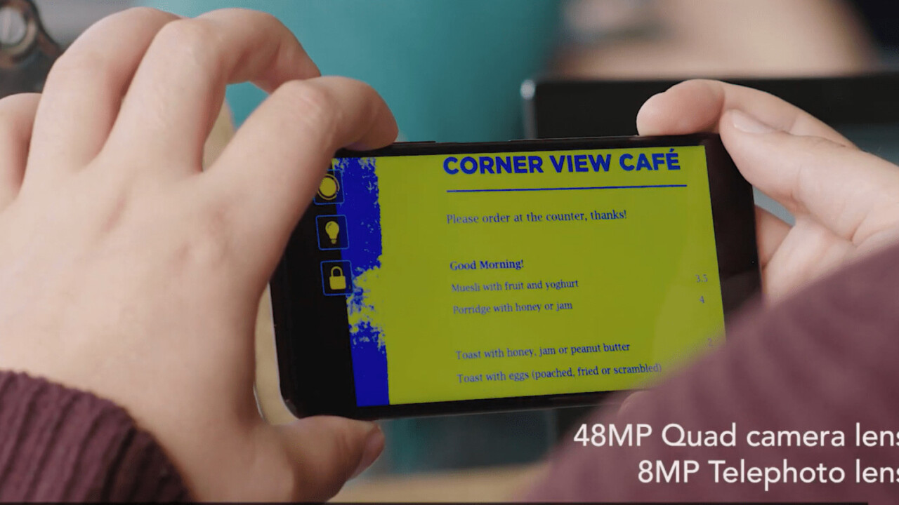 Honor's latest app helps the visually impaired read documents and roadsigns
