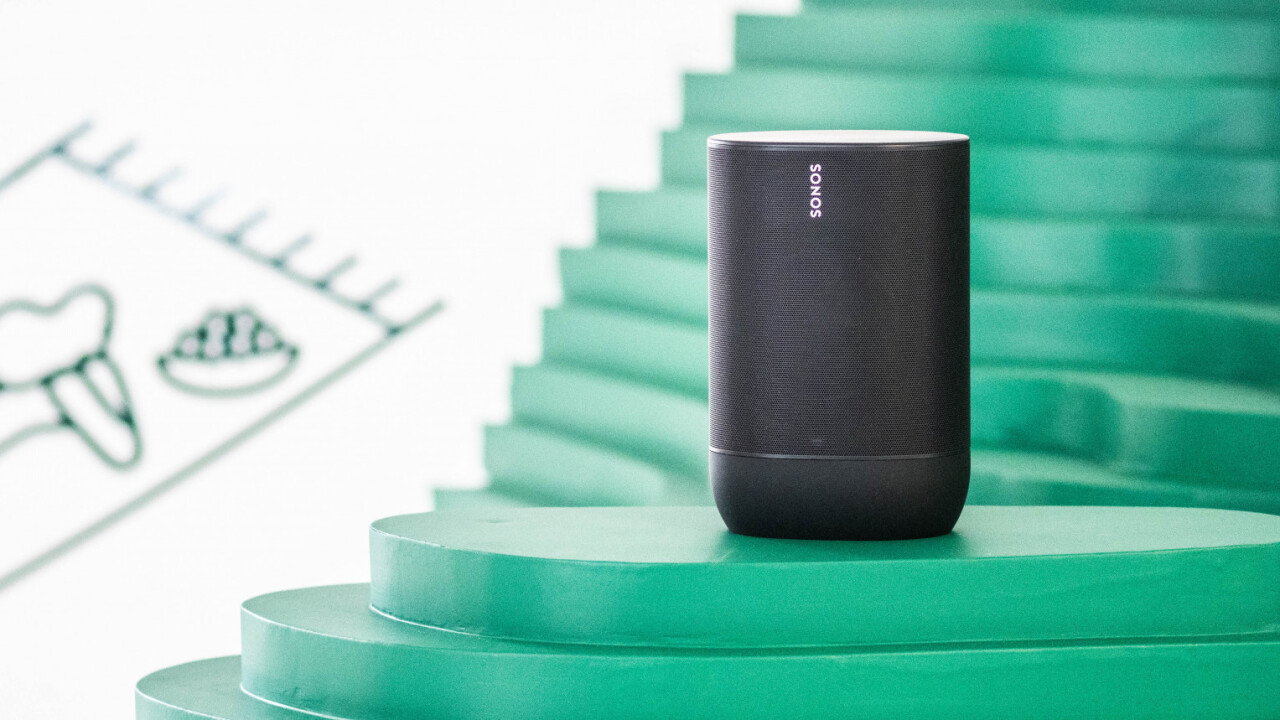 The Sonos Move is its first Bluetooth speaker, and it's a little beast