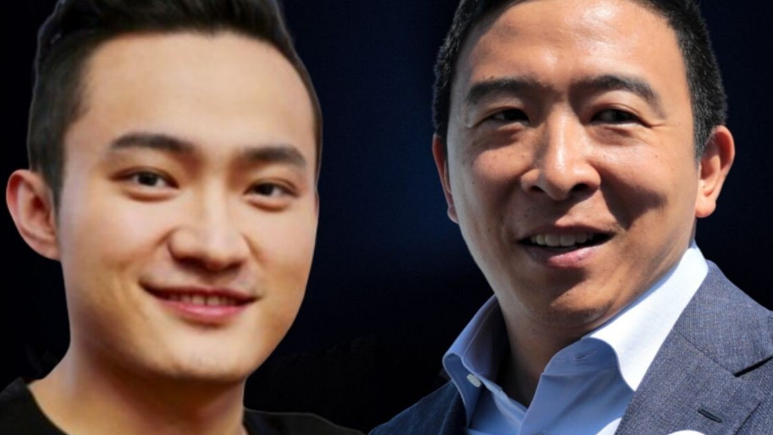Justin Sun seeks Andrew Yang's attention with another cryptocurrency UBI pitch