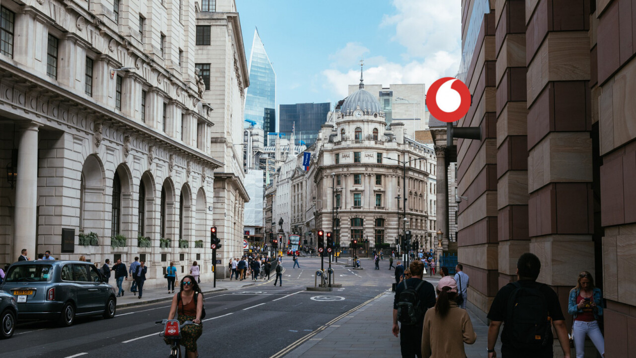 Vodafone litters London with blockchain tokens in new augmented reality game
