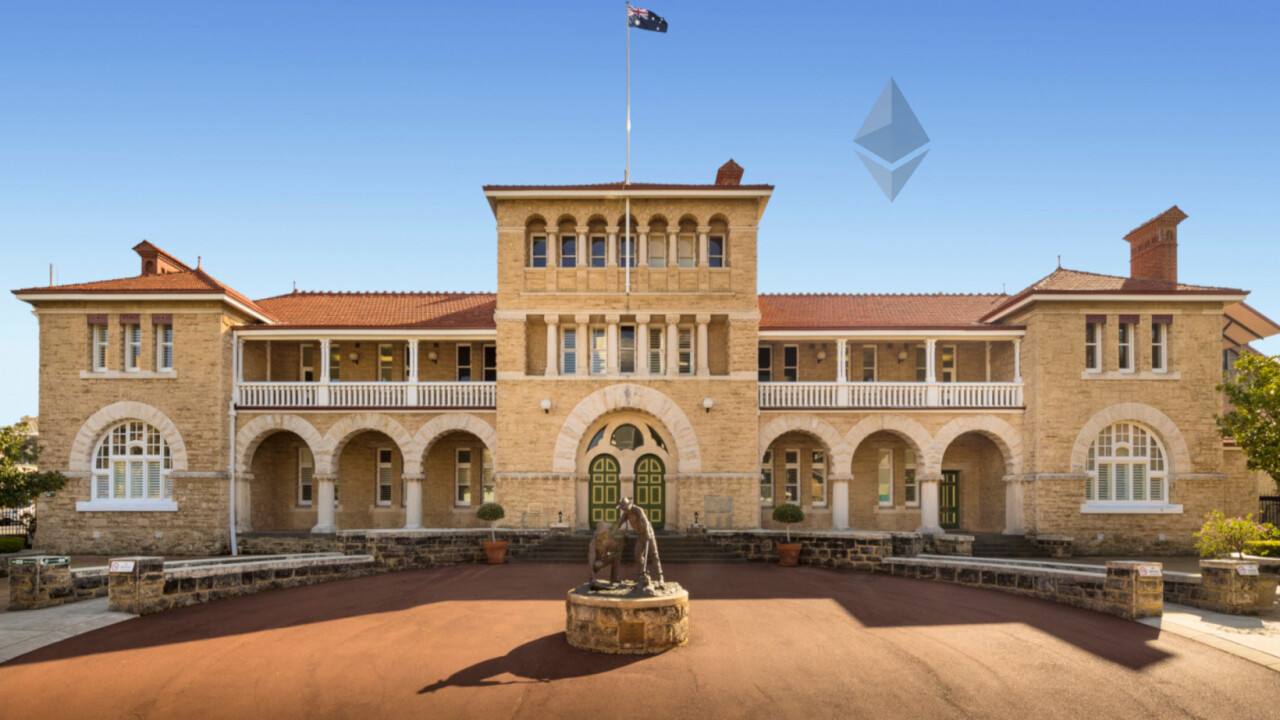 New Ethereum token is backed by gold reserves guaranteed by Australian government
