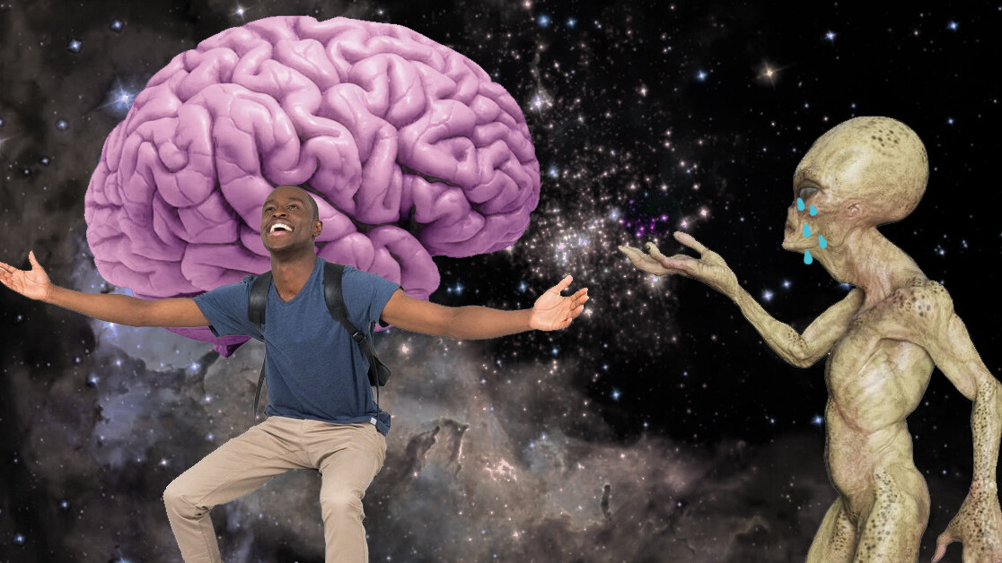Evolution tells us we might be the only intelligent life in the universe