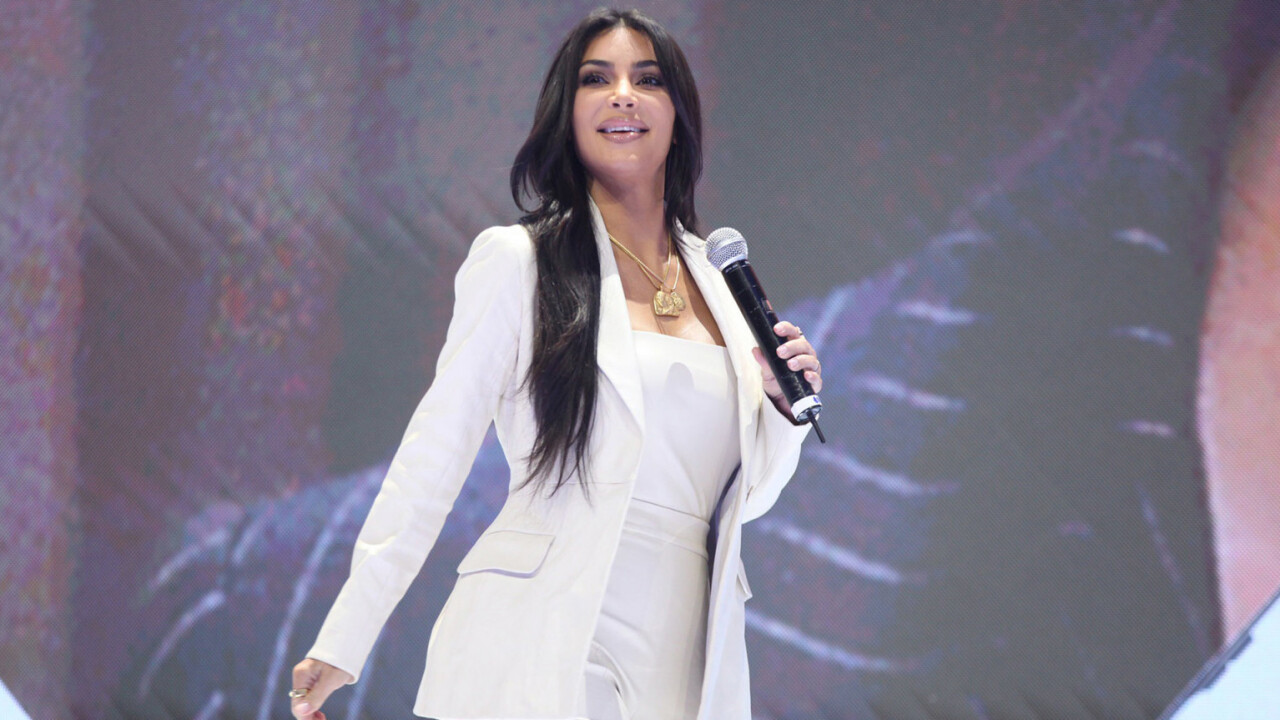 What on earth is Kim Kardashian West doing at a tech conference in Armenia?