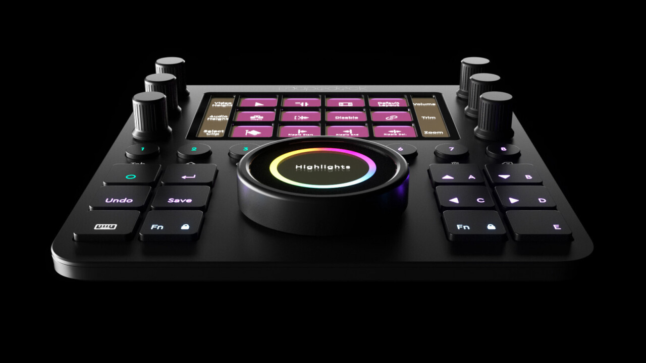 The Loupedeck CT is a hardware console for all your creative software