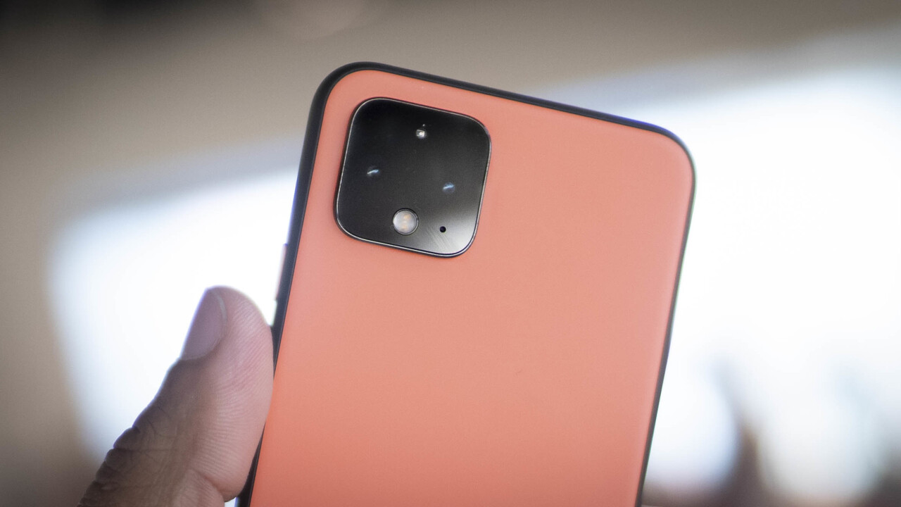 The Pixel 4 can now require your eyes to be open for face unlock to work