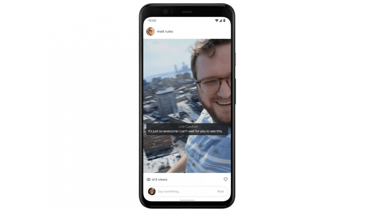 The Pixel 4's Live Captions can transcribe any audio to text (others too, soon)