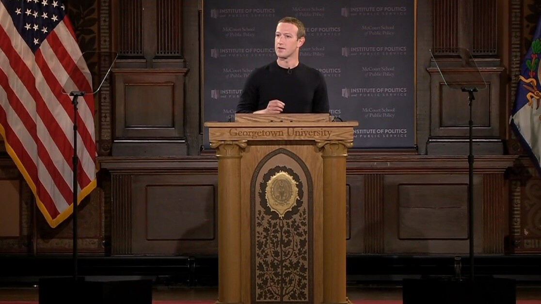 Mark Zuckerberg speaks out on political ads, free speech, and China