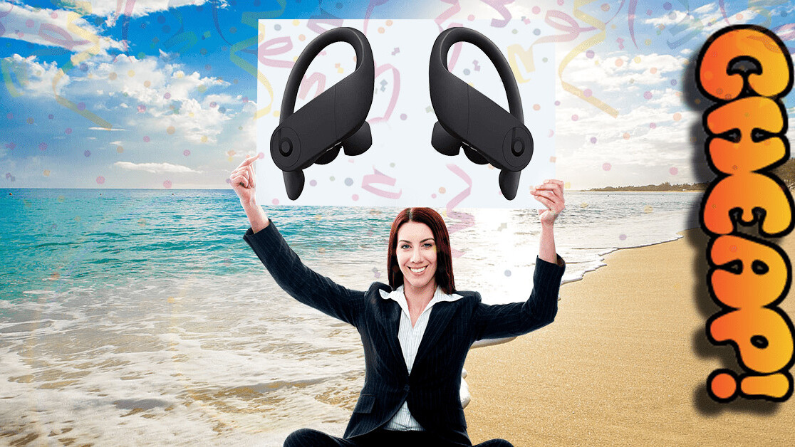 CHEAP: Gush skin, GUSH! (There's 20% off the Powerbeats Pro wireless earbuds)