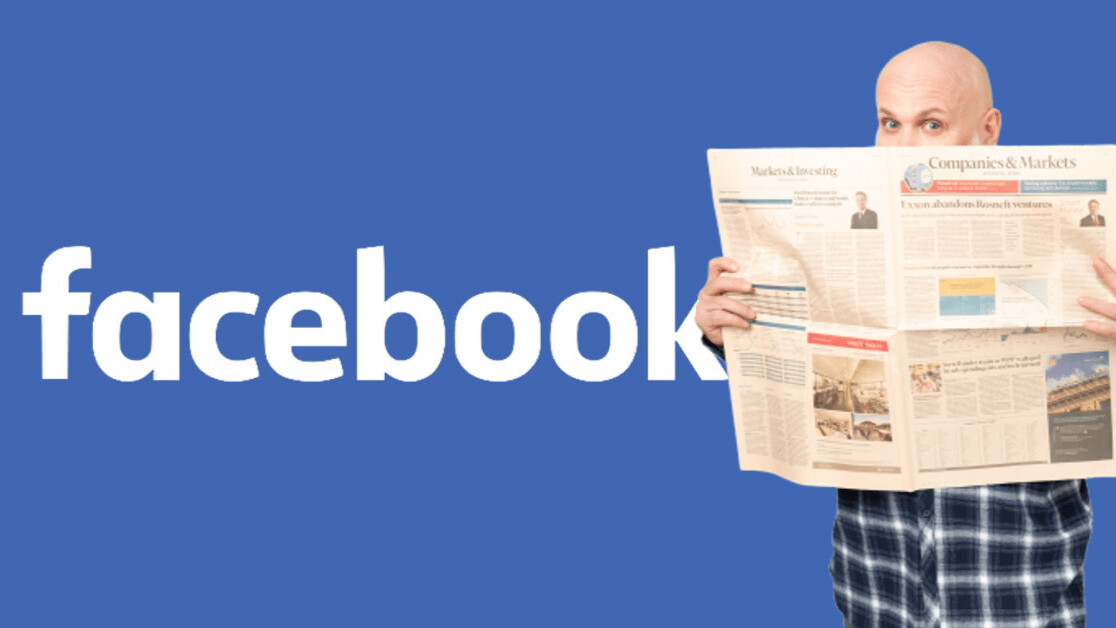 Facebook is about to reveal its News tab