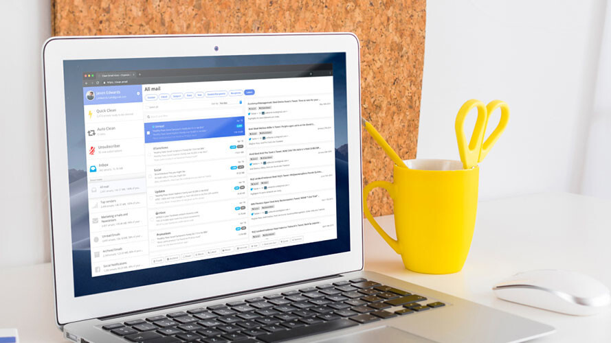 Don't be that person with 1,000 Gmail notifications, tame your inbox with Clean Email