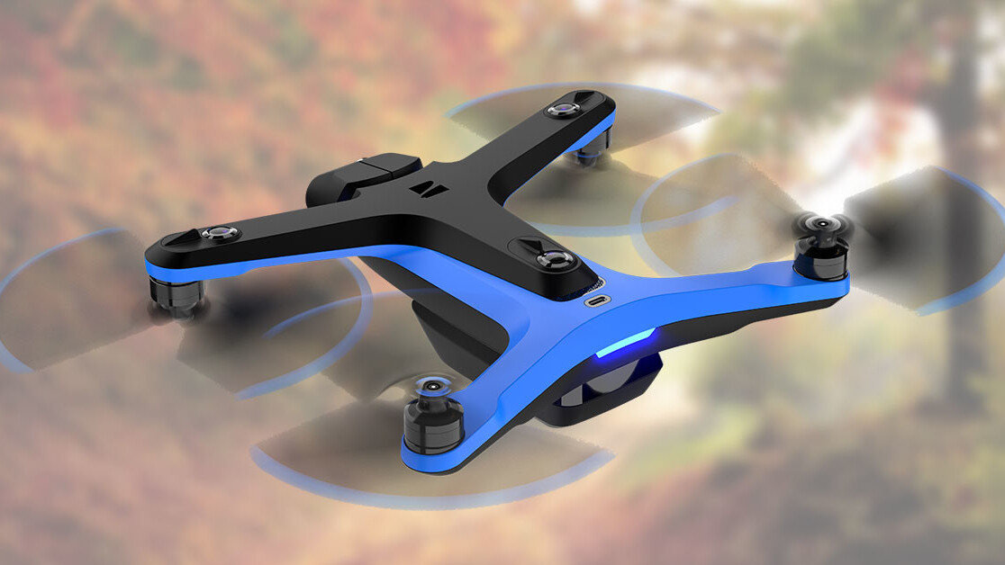 Good luck trying to crash this AI-powered smart drone