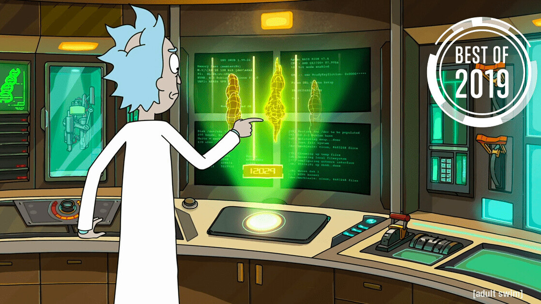 [Best of 2019] We finally know where Rick (from Rick and Morty) stands on the Intel vs AMD debate