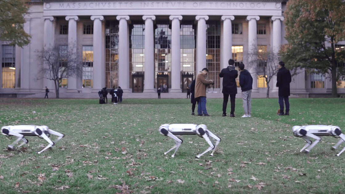 This video of MIT's new robots stomping around will remind you of the Imperial March