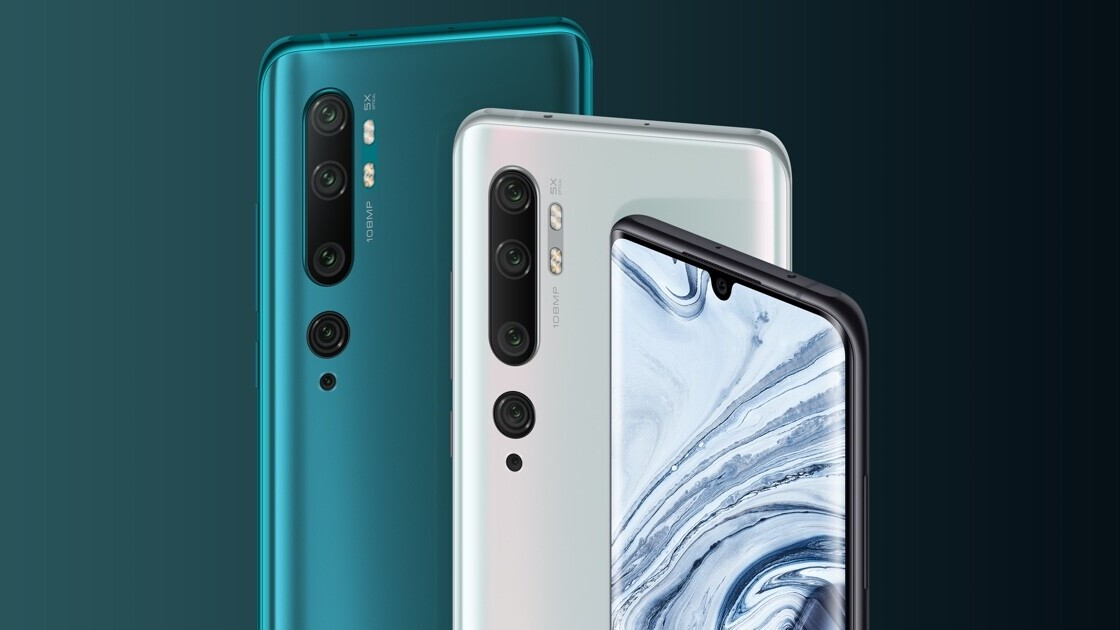 Xiaomi launches the Mi Note 10 with a bonkers 108-megapixel camera