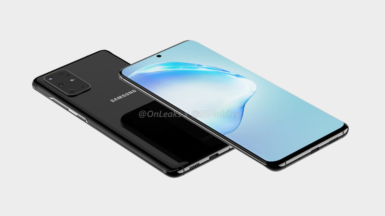 These renders show what Samsung's Galaxy S11 might look like