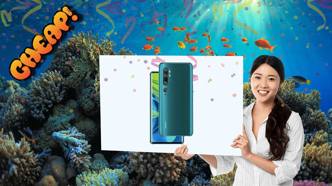 CHEAP: Unbelievable! There's $110 off Xiaomi's new Mi Note 10 with a 108-megapixel camera