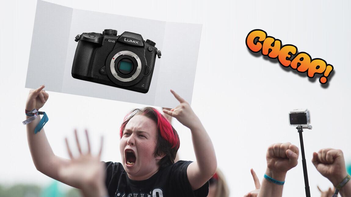 CHEAP: Wanna vlog and take pics? Then grab Lumix GH5 at 30% off