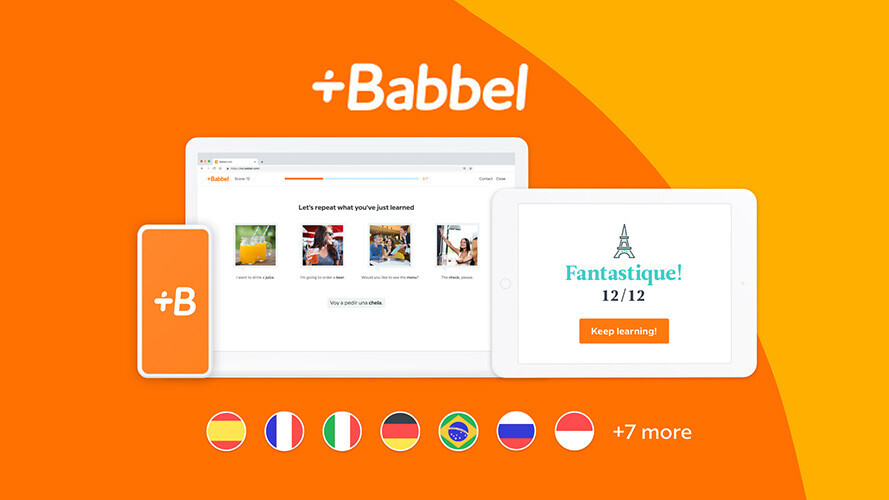 Highly rated language learning app, Babbel, is on sale for Black Friday