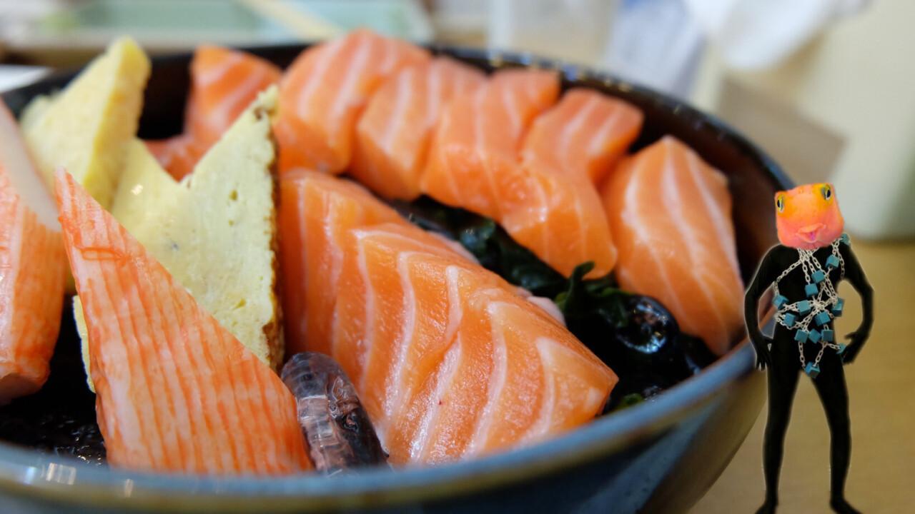 This fish-farming Mitsubishi subsidiary just put salmon on the blockchain