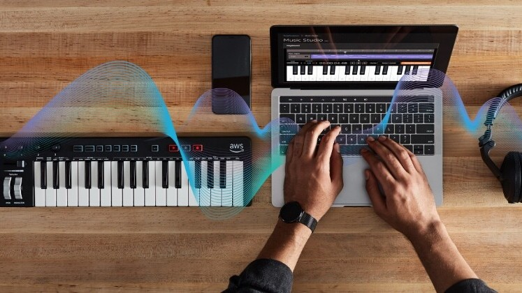 Amazon unveils musical AI keyboard that teaches humans about machine learning