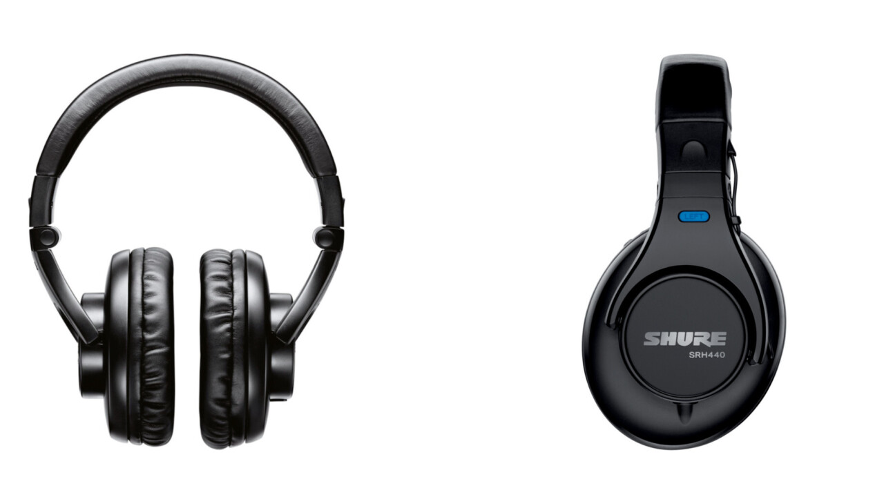 Gift the avid audiophile in your life these headphones from Shure