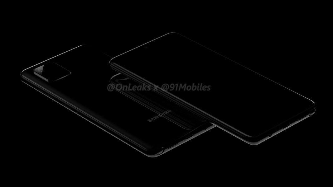 Samsung's Galaxy Note 10 Lite leaks in the flesh