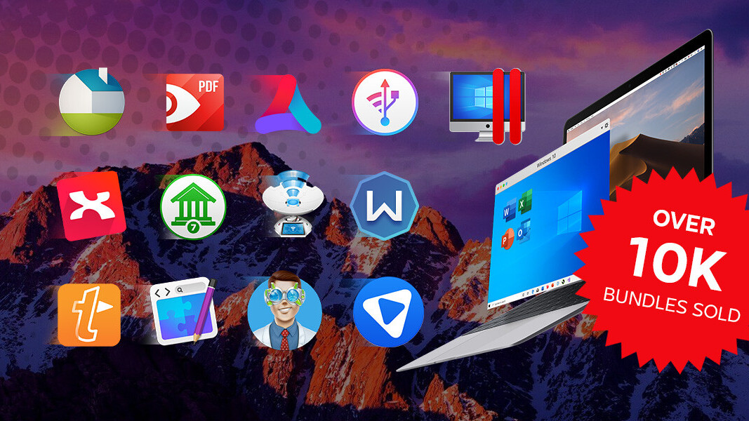 With over 10,000 units sold, score Parallels Desktop and 12 more Mac apps for under $50 today