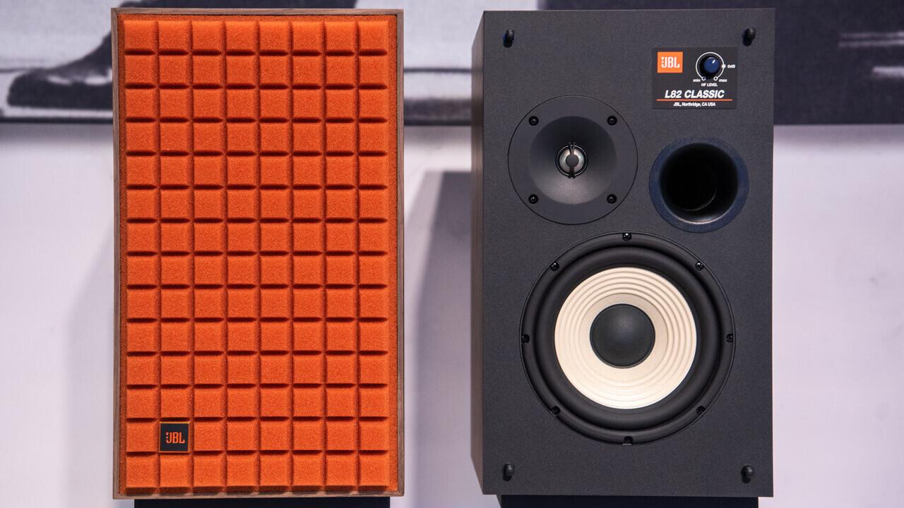 JBL's retro L82 speaker shrinks the L100 Classic into a cheaper package