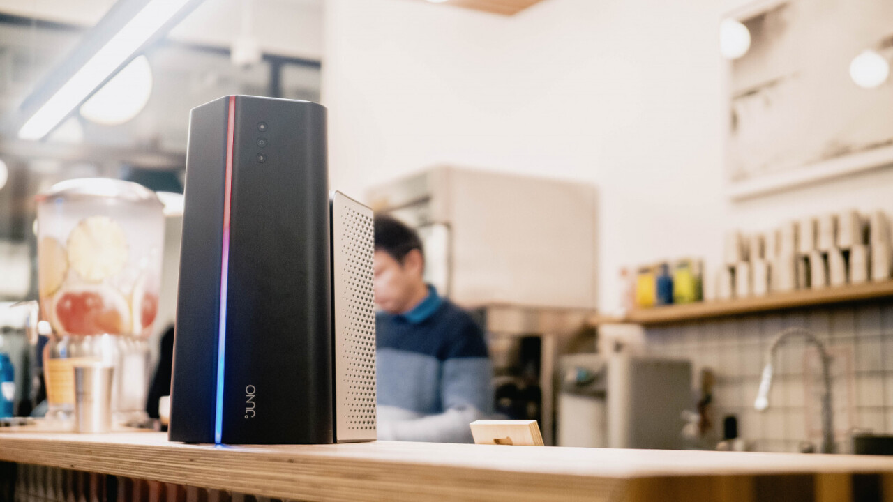 The Juno makes warm drinks ice-cold in under 2 minutes