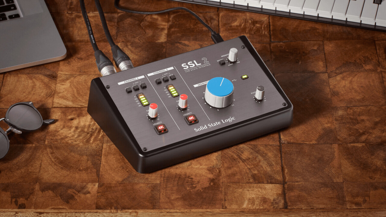 Solid State Logic enters the home studio with a budget audio interface