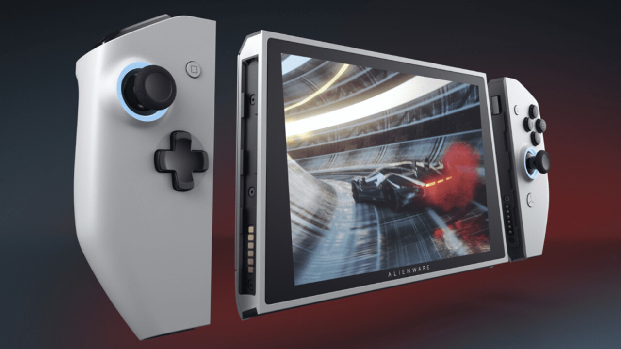 Alienware's Concept UFO is basically a Nintendo Switch on steroids and I want one