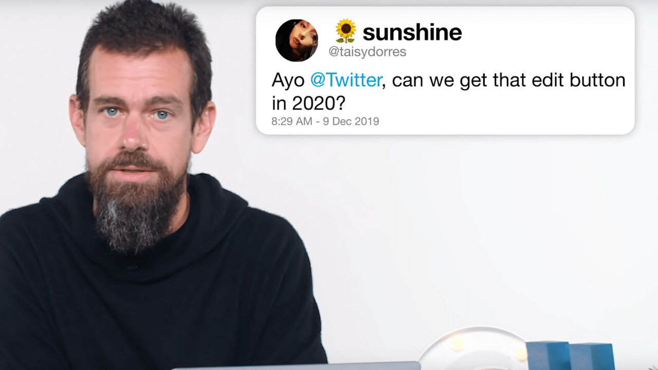 """Jack Dorsey on Twitter's edit button: """"We'll probably never do it"""""""